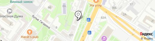 Новая Ромашка на карте Брянска