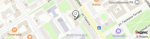 Эксперт-Сервис на карте Петрозаводска