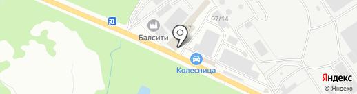 СТО100 Авто на карте Брянска