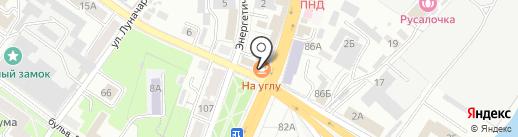 Moя разборка на карте Брянска