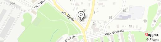 Башня на карте Брянска