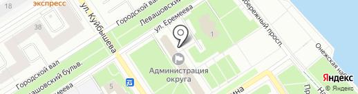 Петрозаводский городской совет ветеранов Военно-Морского флота на карте Петрозаводска