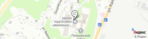Брянское духовное училище на карте Брянска