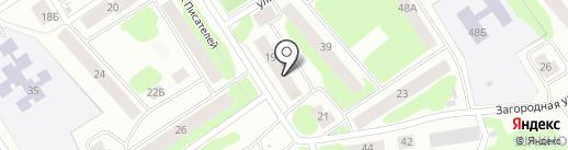 Связист, ТСЖ на карте Петрозаводска