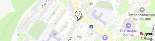 Союз, КПК на карте Брянска