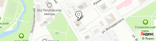 Гео10 на карте Петрозаводска