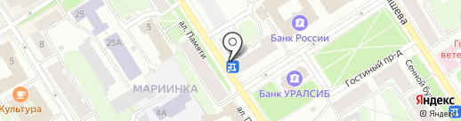 Магнит на карте Петрозаводска