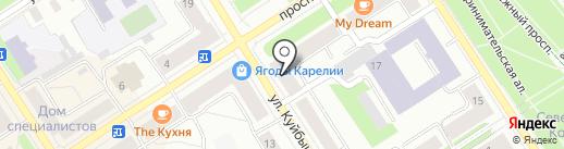 ИНВИТРО на карте Петрозаводска
