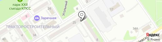 Дорожное радио Карелии, FM 107.2 на карте Петрозаводска