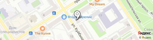 Недвижимость на карте Петрозаводска