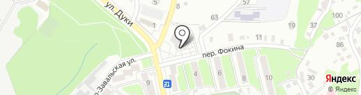 Книжный магазин на карте Брянска