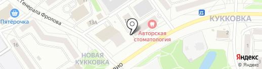 Магазин карнизов и штор на карте Петрозаводска