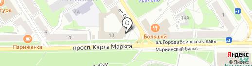 Управление уголовного розыска МВД России по Республике Карелия на карте Петрозаводска