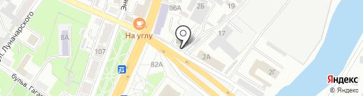 Центр Государственной инспекции по маломерным судам МЧС России Брянской области на карте Брянска