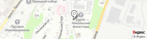 Горно-Никольский епархиальный мужской монастырь на карте Брянска