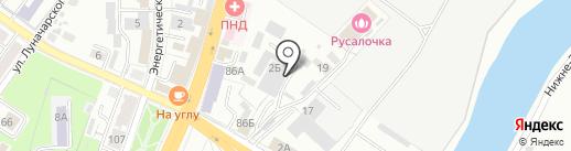 Эскобар на карте Брянска