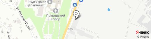 АВИСАР-ГРУПП на карте Брянска