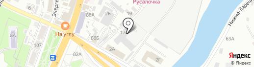 Брянский арсенал, ЗАО на карте Брянска