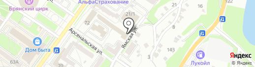 Проектно-экспертная организация на карте Брянска