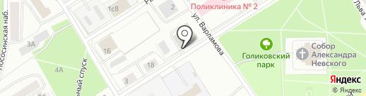 Магазин промышленных товаров на карте Петрозаводска