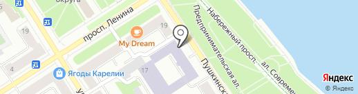 Банкомат, Балтийский банк, ПАО на карте Петрозаводска