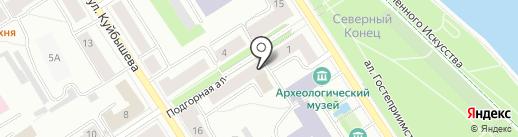 А-Строй на карте Петрозаводска