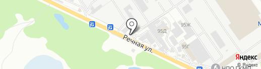 СК-Бетон на карте Брянска