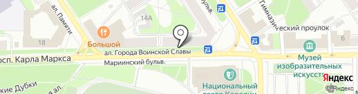 Цветы на карте Петрозаводска