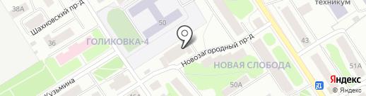 Машезерское, ТСЖ на карте Петрозаводска