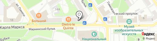 Benaffetto на карте Петрозаводска