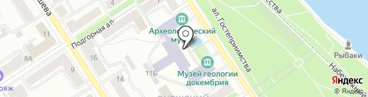 Общественный межрегиональный Северо-Западный центр развития малого горного бизнеса на карте Петрозаводска