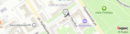 Информационный туристский центр Республики Карелия, ГБУ на карте Петрозаводска