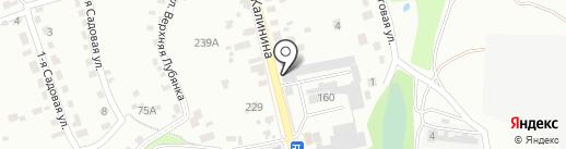 Карамелька на карте Брянска