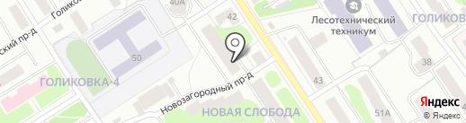 LOST на карте Петрозаводска