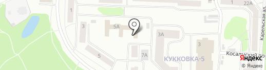 Диалог.ru на карте Петрозаводска
