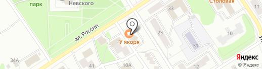 Карьяла-Похъёла на карте Петрозаводска