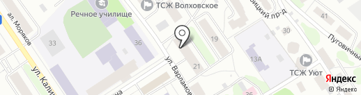 BR Turbo на карте Петрозаводска