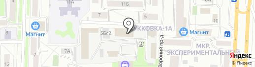 Арт-Гармония на карте Петрозаводска