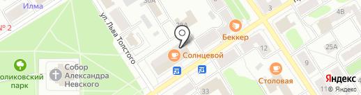 Банкомат, Банк ВТБ 24, ПАО на карте Петрозаводска