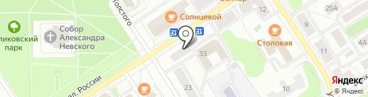 ЛИТ.RA на карте Петрозаводска