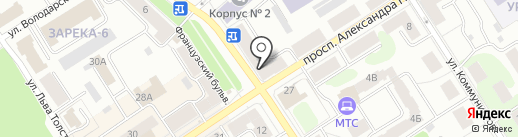 Городская аптека на карте Петрозаводска