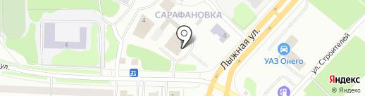 ТНТ-Онего на карте Петрозаводска