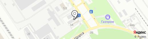 АНГАР авто на карте Брянска