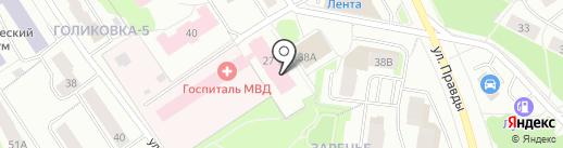 Телефон доверия на карте Петрозаводска