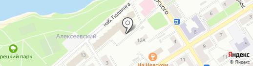 Учебно-методический центр по ГО и ЧС Республики Карелия на карте Петрозаводска