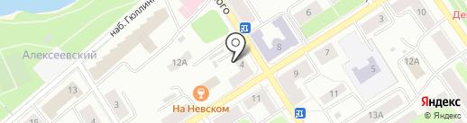 Чистый дом на карте Петрозаводска