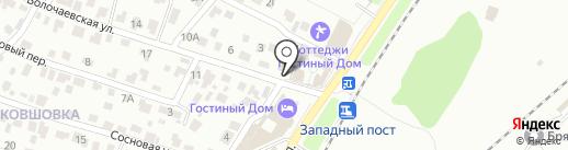 Почтовое отделение №39 на карте Брянска