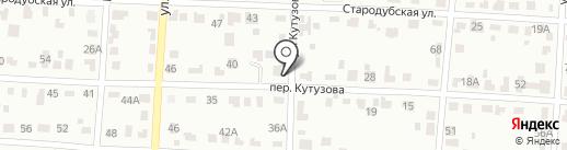 Виллайн на карте Брянска