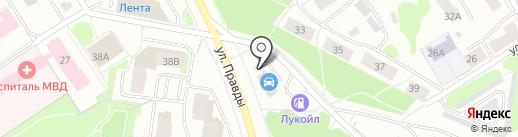 MAXIMUM на карте Петрозаводска