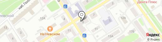Техно на карте Петрозаводска